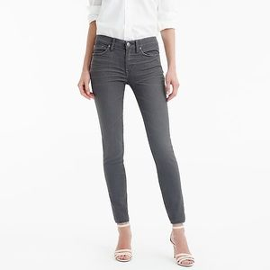 •J. Crew• Toothpick Skinny Jeans Gray